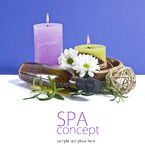 SPA background. Shallow DOF Royalty Free Stock Photos