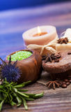 SPA background. Shallow DOF Stock Photos