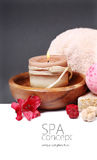 SPA background. Shallow DOF Royalty Free Stock Photography