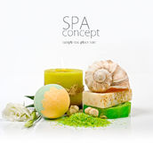 SPA background. Shallow DOF Royalty Free Stock Photos