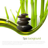 Spa background Stock Images