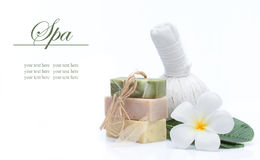 Spa banner Royalty Free Stock Photo