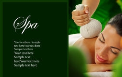 Spa banner Royalty Free Stock Photos