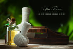 Spa banner Royalty Free Stock Image