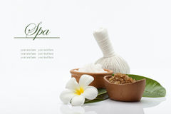 Spa banner Stock Image