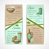 Spa banners vertical Royalty Free Stock Image