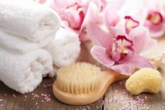 Spa and bath Stock Image