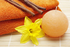 Spa and bath accessories Stock Photography
