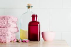 Spa Bath Items Stock Images