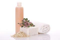 Spa. bath items Stock Photo