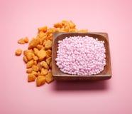 Spa bath salt Stock Photography