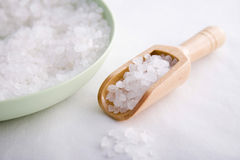 Spa bath salts Stock Photos
