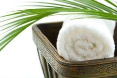 Spa Bath Towel Royalty Free Stock Photos