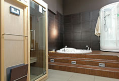 Spa bathroom Royalty Free Stock Photography