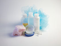 Spa, bathroom products, face clearning Stock Image