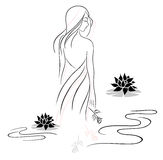 Spa and beauty royalty free illustration