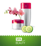 Spa and beauty background Royalty Free Stock Photo