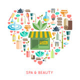 Spa And Beauty Concept Stock Photography