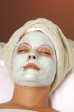 Spa Beauty Facial Mask Royalty Free Stock Photo