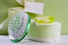 Spa Beauty gift set Royalty Free Stock Images