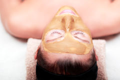 Spa beauty mask Royalty Free Stock Photography