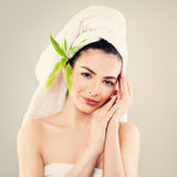 Spa Beauty and Skincare Concept Royalty Free Stock Image