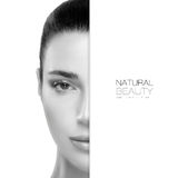 Spa Beauty and Skincare concept. Template Design stock images