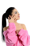Spa beauty treatment woman Stock Images