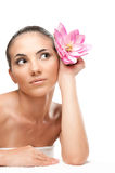 Spa beauty woman Stock Photo