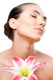Spa beauty young woman stock photo