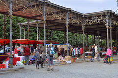Spa flea market Stock Photography