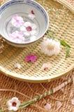 Spa blom- sammansättning Royaltyfria Bilder