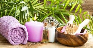 Spa Body-Care Treatment Stock Photo