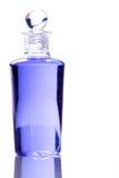Spa bottle - purple Stock Photos