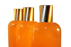 Spa Bottles Royalty Free Stock Photo