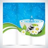 Spa brochure Stock Photos