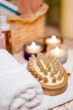 Spa brush composition Stock Photography