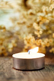 Spa Candle light Stock Image