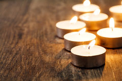 Spa Candle light Royalty Free Stock Photos