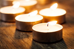Spa Candle light Stock Images