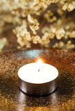 Spa Candle light Stock Photography