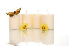 Spa Candles Royalty Free Stock Photos
