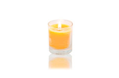 Spa candles Stock Photography