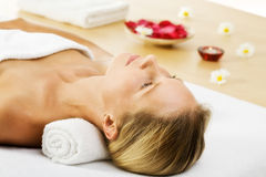 In spa center stock photography