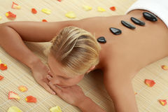 In spa center stock images