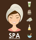 Spa center design Royalty Free Stock Photography