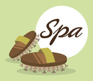 Spa center massage relaxing Stock Photography