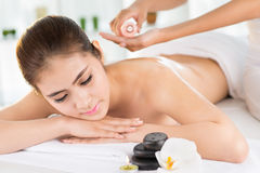 At a spa Stock Images