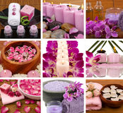 Spa Collage royalty free stock images