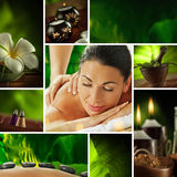 Spa Collage Stock Image
